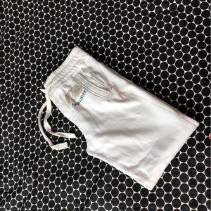 Hollister Beige Button-up Sweatpants